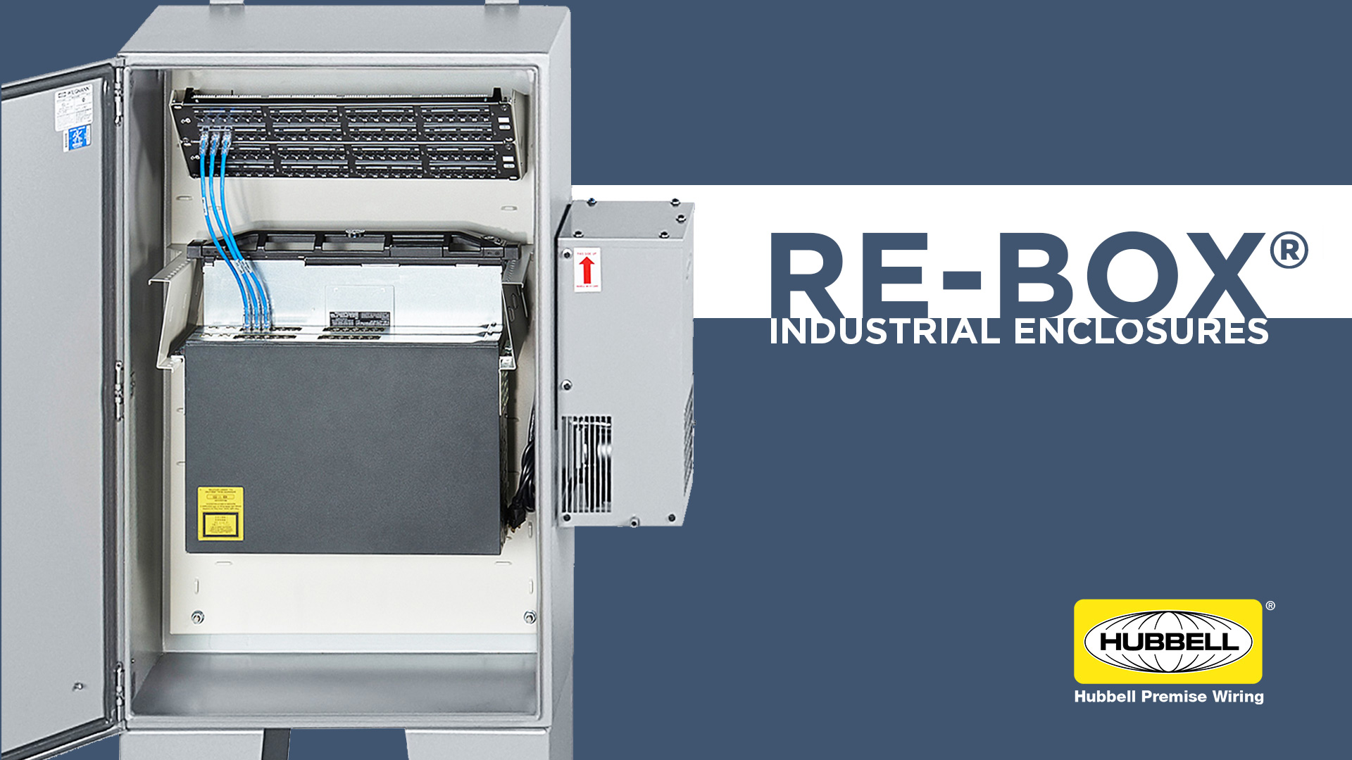 Industrial RE-BOX® Networking Cabinet
